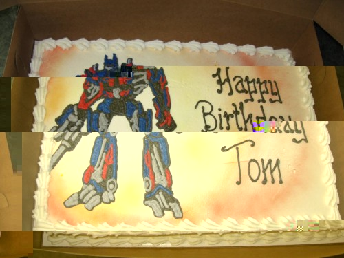 Excellent Seibertron Com Energon Pub Forums My Custom Optimus Prime Personalised Birthday Cards Paralily Jamesorg