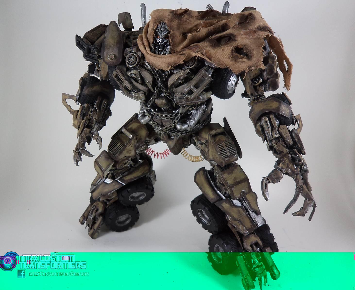 Transformers Dotm Leader Class Megatron Leader Class Megatron Dotm v3