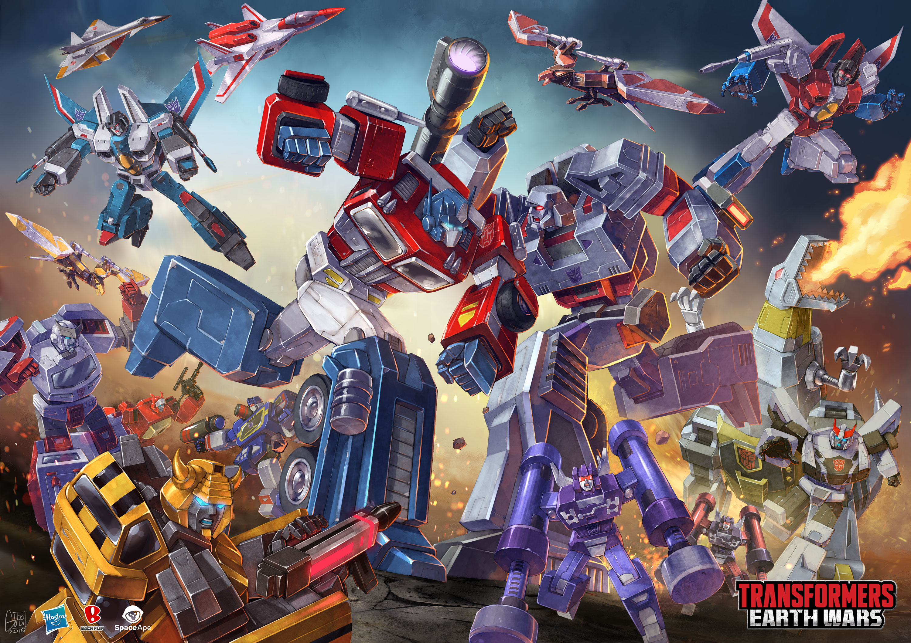 "Transformers News: Transformers Earth Wars ""Decoy Dash"" In-Game Event This Holiday Weekend plus new poster unveiled"