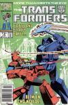 Marvel's Transformers #18 featuring Straxus