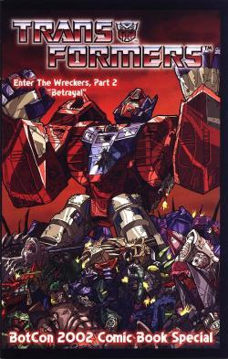 "Transformers: Wreckers (Part 2): ""Betrayal"""