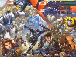 G.I.Joe vs the Transformers