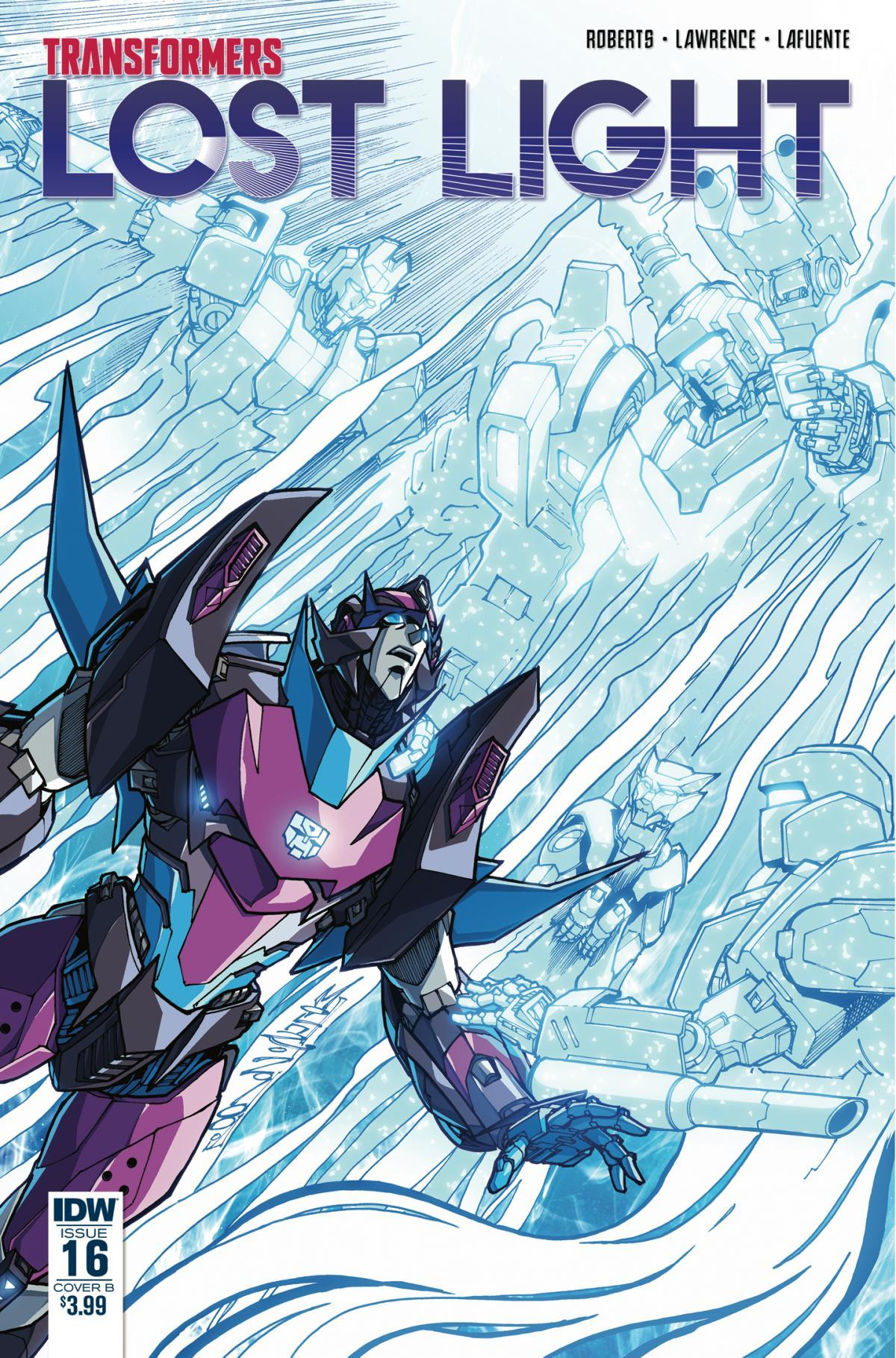 Transformers News: James Roberts on Ending the IDW Transformers: Lost Light Comics