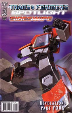 Transformers: Revelation (Spotlight: Sideswipe)