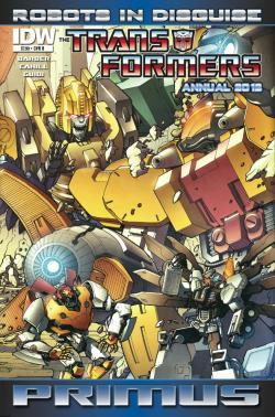Transformers: Robots in Disguise Annual 2012