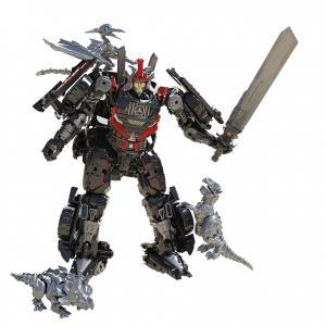 36 Drift with Baby Dinobots