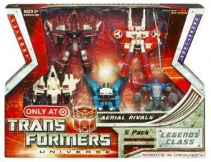Aerial Rivals Legends 5 pack (Target)