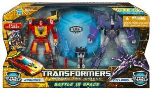 Battle in Space (Rodimus vs Cyclonus)