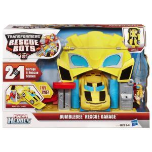 Bumblebee Rescue Garage