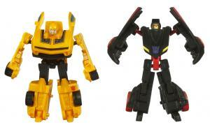 Bumblebee vs Shadow Striker (Legends)