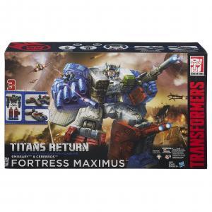 Fortress Maximus with Emissary and Cerebros