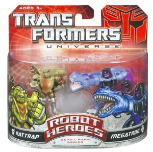 Megatron and Rattrap