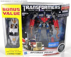 Optimus Prime and Comettor (Walmart)