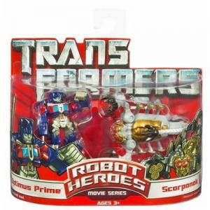 Optimus Prime vs Scorponok