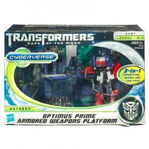 Optimus Prime with Armored Weapon Platform