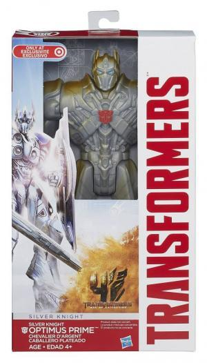 "Titan Guardian 12"" Silver Knight Optimus Prime (Target Exclusive)"