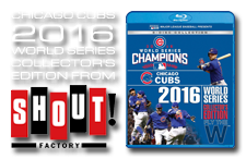 Chicago Cubs World Series 2016 8-Disc Collector's Edition Set from Shout! Factory