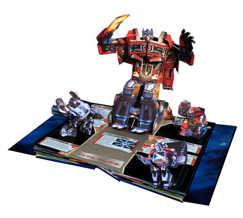Transformers News: Now Available: Transformers: The Ultimate Pop-Up Universe by Matthew Reinhart