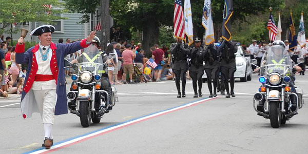 Transformers News: Bumblebee, Mr. and Mrs. Potato Head March into Bristol, Rhode Island's Fourth of July Parade