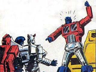 Optimus having a bad day!