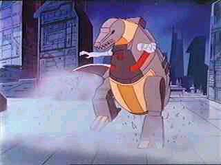 Grimlock breakdancing?