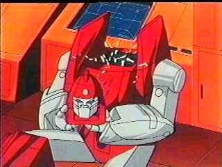 Powerglide holding his own head