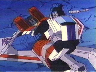 Jazz gets on Starscream