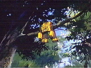 Bumblebee in a tree
