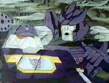 Galvatron talks to Soundwave