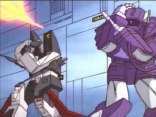 Shockwave and Ramjet cower