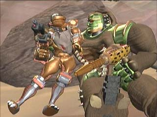Rattrap and Rhinox sit down for a moment