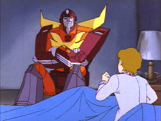 Daniel tells Rodimus about a dream