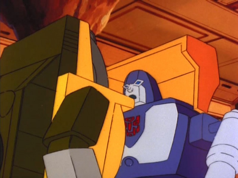 Brawn and Huffer talking