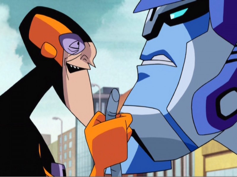 Nanosec face-to-face with Optimus Prime
