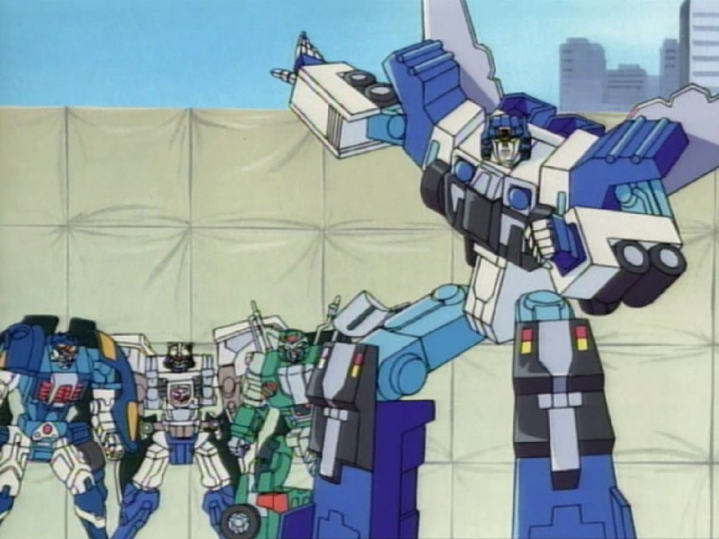 Ultra Magnus and the Car Brothers