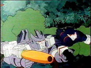 Galvatron & Soundwave hold hands