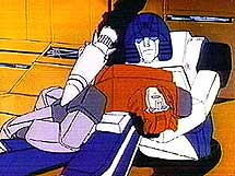 Mirage holding Cliffjumper