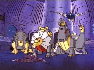 Shockwave vs the Dinobots