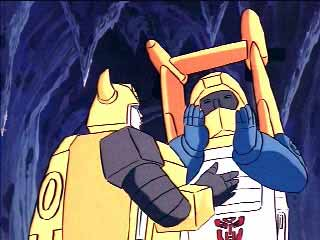 Seaspray with his hands cupping his face