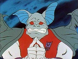 Bomb-Burst making a weird face