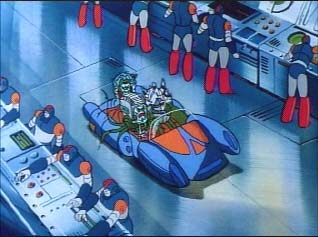 Quintessons in transport vehicle