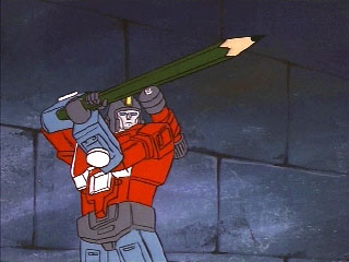 Perceptor wields a pencil