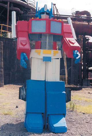 "The ""real"" Optimus Prime"