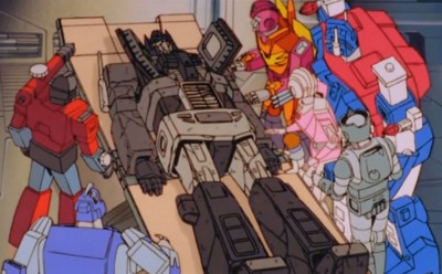 Optimus Prime on his deathbed