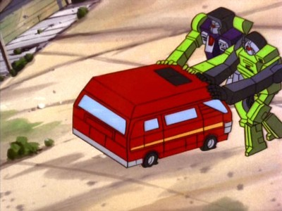 Scrapper and Long Haul push Ironhide
