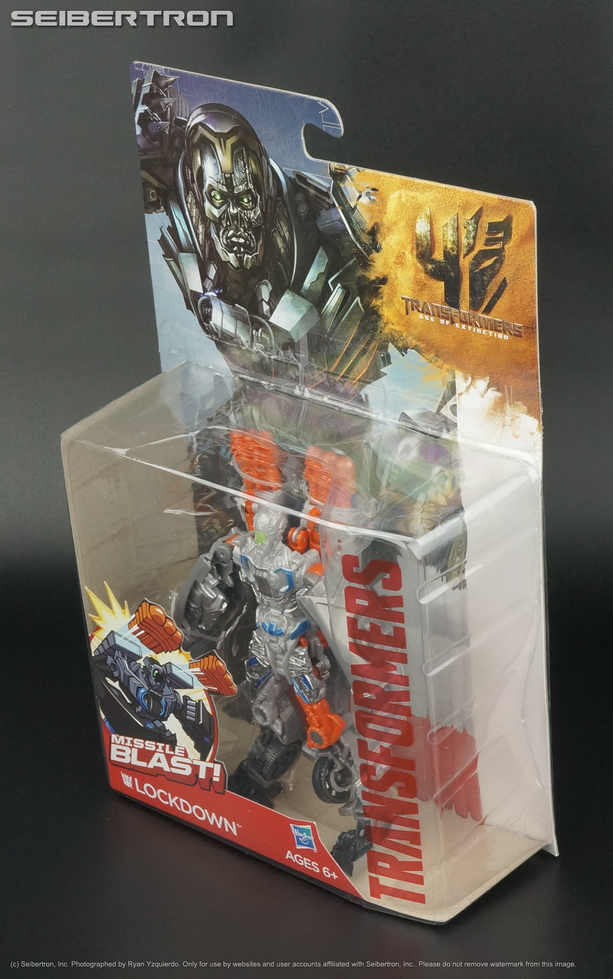Transformers Age of Extinction Lockdown Missile Blast Action Figure Kids Toy