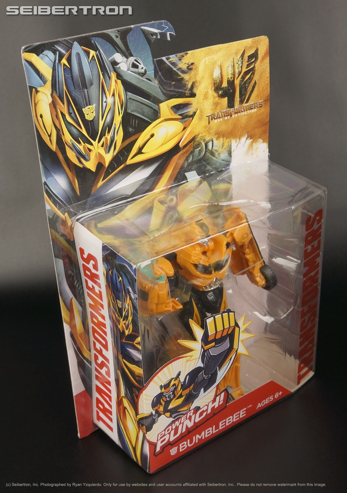 Power Attackers POWER PUNCH BUMBLEBEE Transformers Age of Extinction AOE Movie