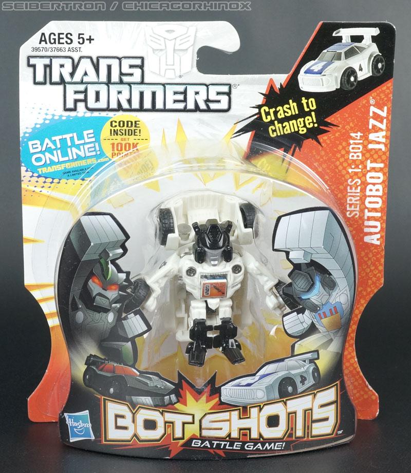 AUTOBOT JAZZ Transformers Bot Shots Series 1 B014 Series New Hasbro