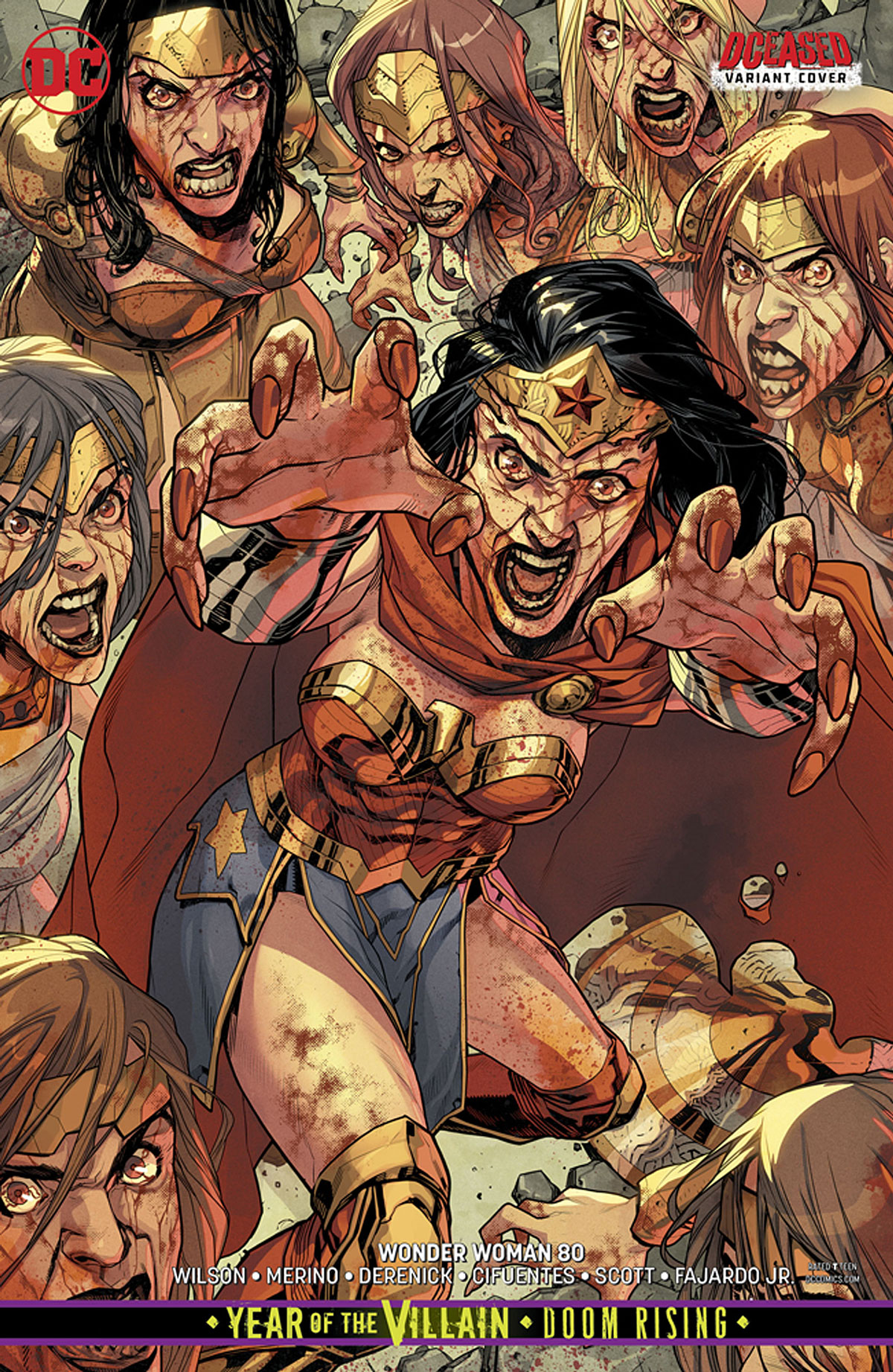 Wonder Woman REBIRTH #1-79 First Prints /& Jenny Frison Variants DC Vol. 5