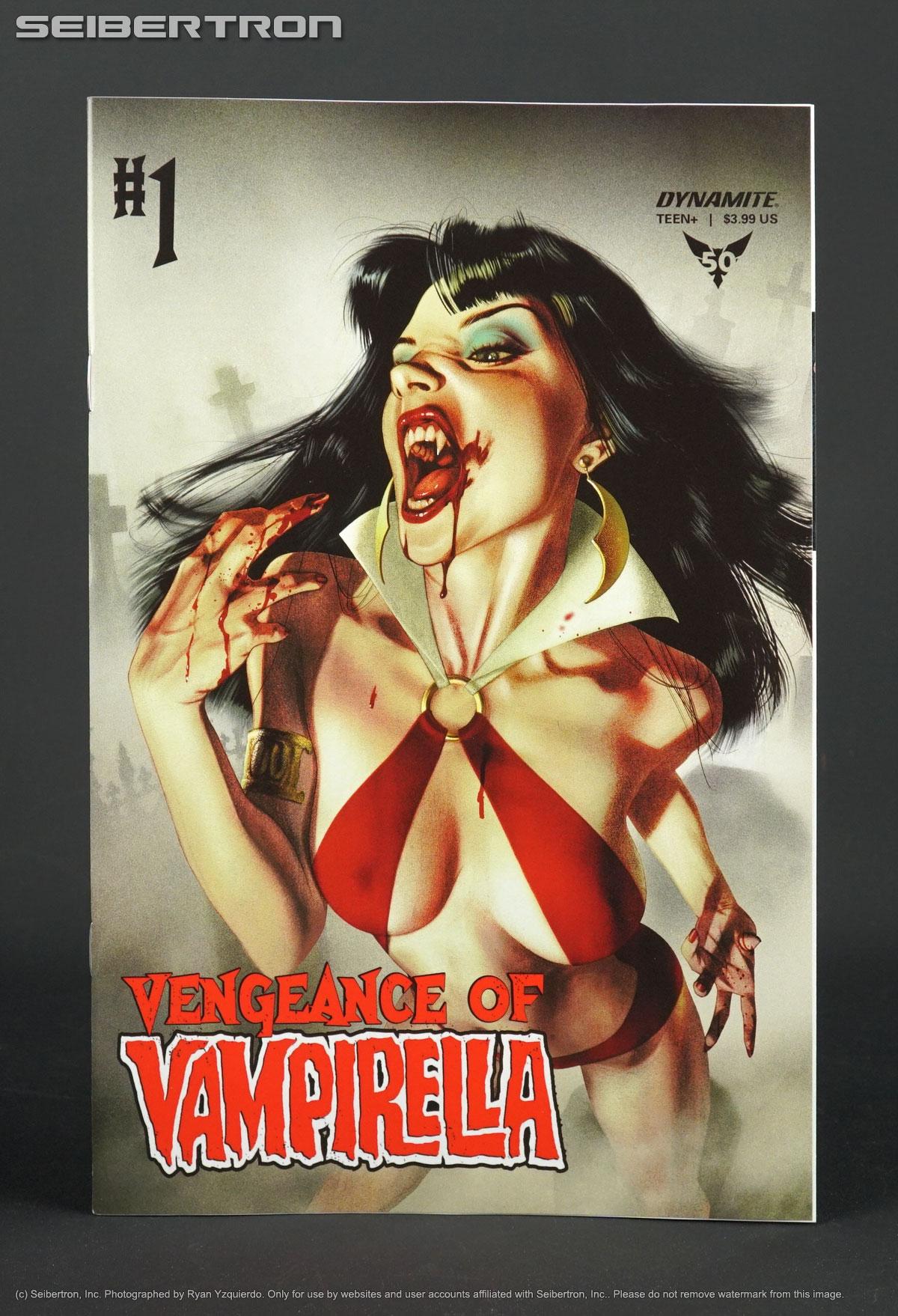 Vengeance Of Vampirella # 3 Parrillo Cover A NM Dynamite